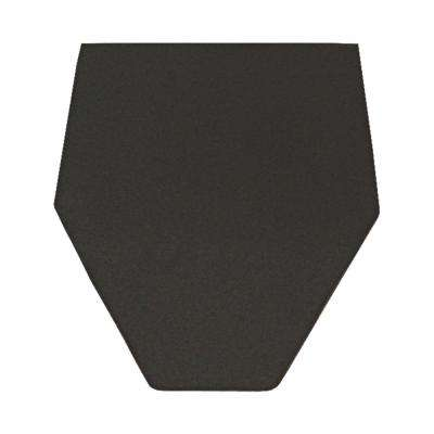 21 in. x 18 in. Urinal Floor Mat in Gray