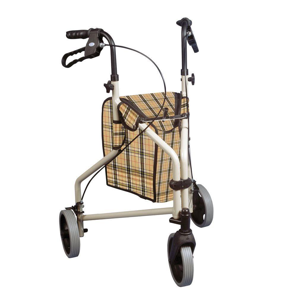 Drive Winnie Lite Supreme 3-Wheel Rollator Walker