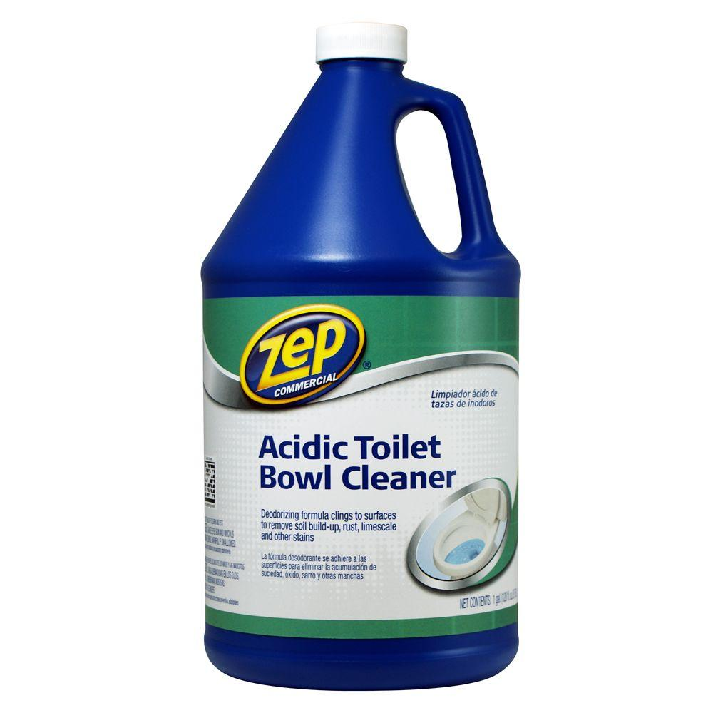 Zep 1 Gallon Acidic Toilet Bowl Cleaner Zuatb128 The