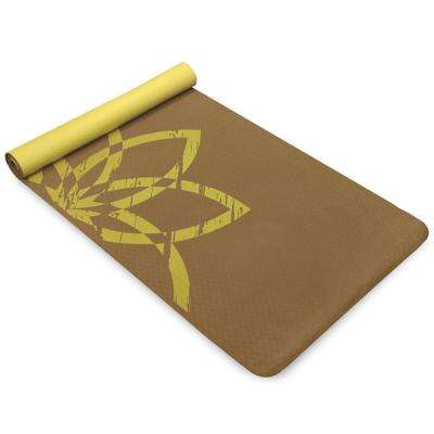 4 mm Brown EkoSmart Yoga Mat - Terra Life