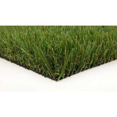 Classic Pro 82 Fescue 3 ft. x 8 ft. Artificial Synthetic Lawn Turf Grass Carpet for Outdoor Landscape