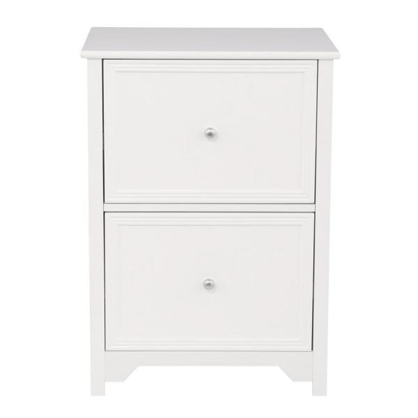 Oxford White 28.5 in. File Cabinet