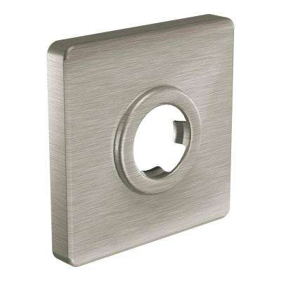 Shower Arm Flange in Brushed Nickel