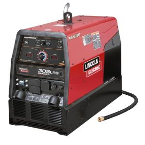 Lincoln Electric 300 Amp Ranger 305 LPG Engine Driven Welder (Kohler), Multi-Process Capabilities, 10 kW Peak... by Loln Electric