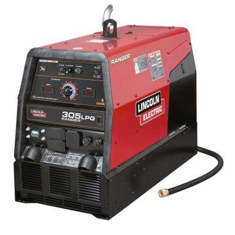 300 Amp Ranger 305 LPG Engine Driven Welder (Kohler), Multi-Process Capabilities, 10 kW Peak AC Generator Power