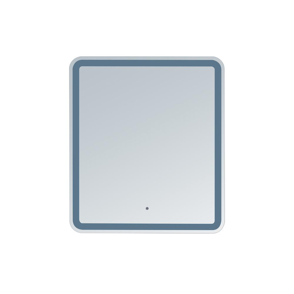 innoci-usa Hermes 28 in. x 32 in. Rounded Edge LED Mirror
