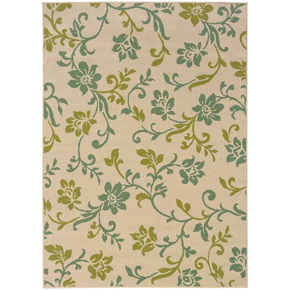 Home Decorators Collection Adelaide Beige 8 Ft X 11 Outdoor Area Rug