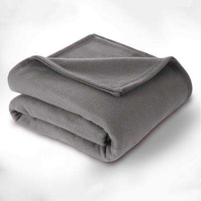 Supersoft Fleece Smoked Pearl Polyester Twin Blanket