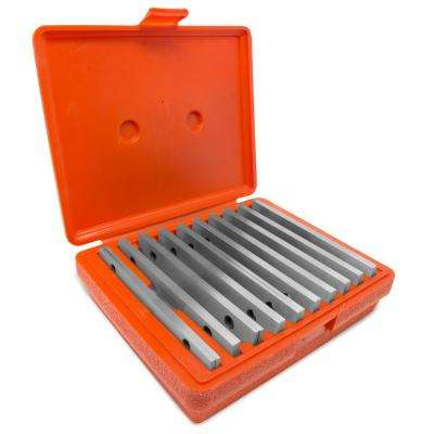 1/8 in. Precision-Ground Parallel Gauge Sets with Case (20-Piece)
