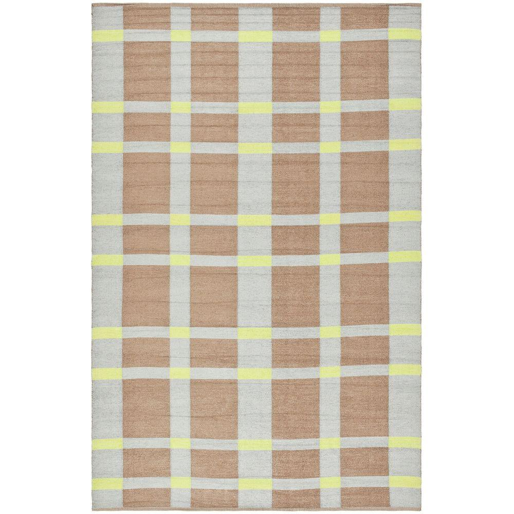 Safavieh Thom Filicia Lawn Green 6 ft. x 9 ft. Indoor/Outdoor Area Rug