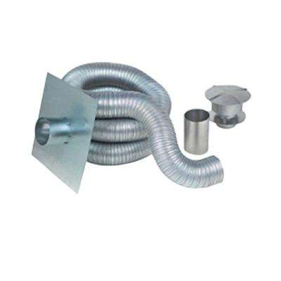 4 in. x 35 ft. Gas Aluminum Chimney Liner Kit