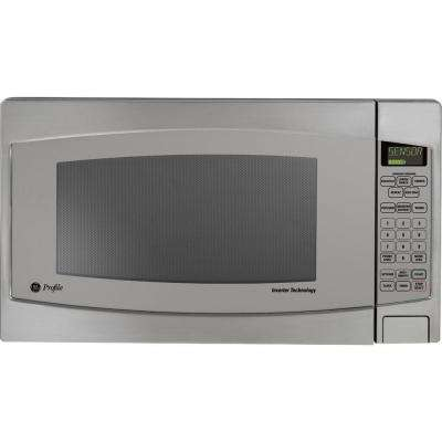 2.2 cu. ft. Countertop Inverter Microwave in Stainless Steel