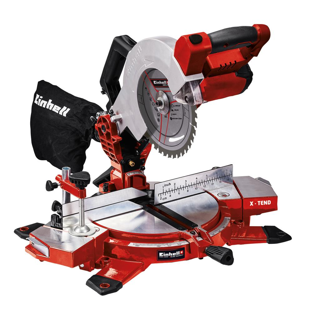 """HEAVY DUTY EINHELL 18V LITHIUM CORDLESS 10/"""" CHAINSAW SAW /& 2 BATTERIES CHARGER"""