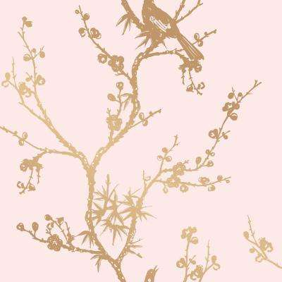 Cynthia Rowley Bird Watching Vinyl Peelable Wallpaper (Covers 60 sq. ft.)