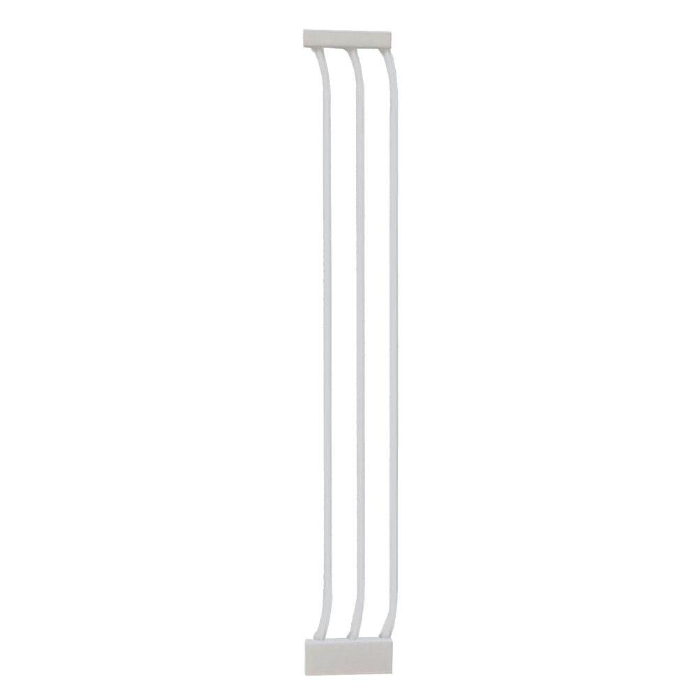 Dreambaby 7 In Gate Extension For White Chelsea Extra Tall Child