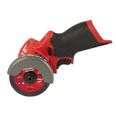 M12 FUEL 12-Volt 3 in. Lithium-Ion Brushless Cordless Cut Off Saw (Tool-Only)