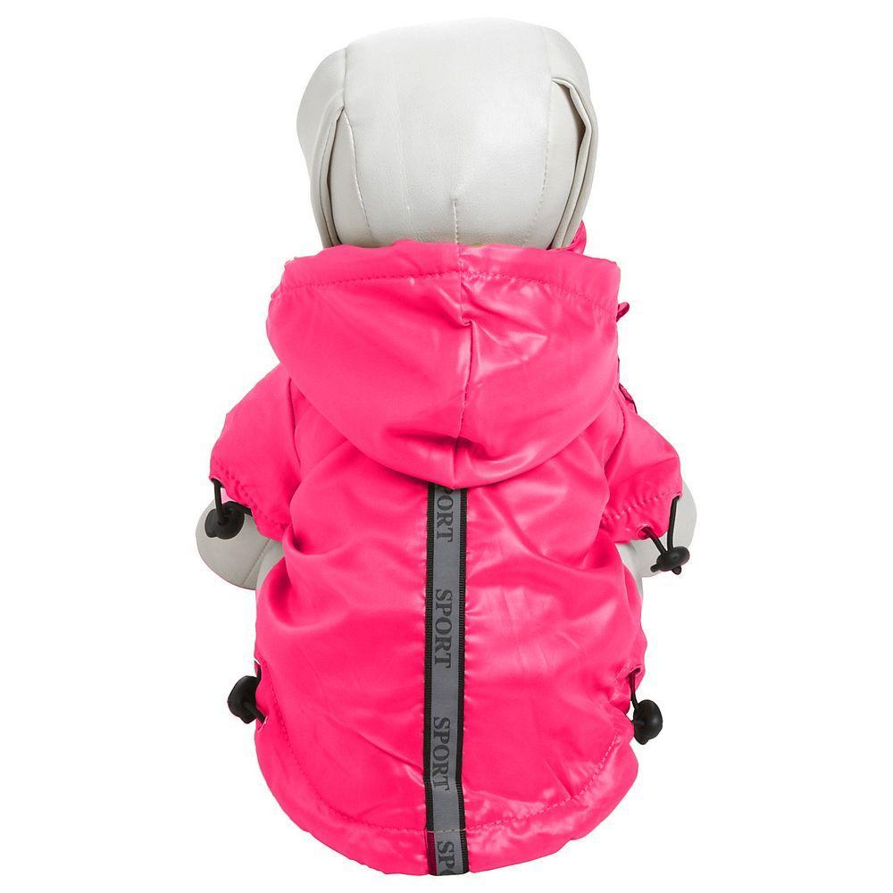 Petlife X-Small Hot Pink - Reflecta-Sport Rainbreaker