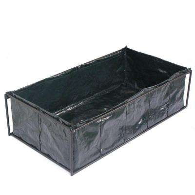 10 in. Plastic Tomato Raised Garden Bed Kit Planter
