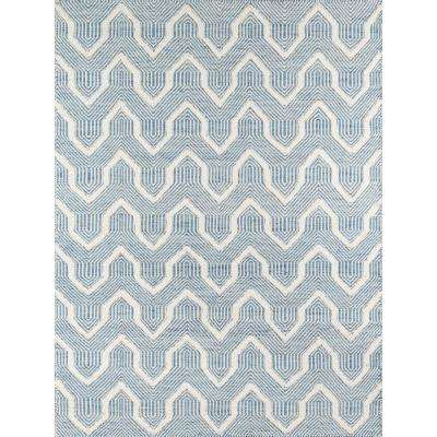 Prince Blue 8 ft. 6 in. x 11 ft. 6 in. Area Rug