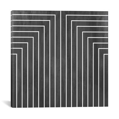 """Mid Century Modern Art"" by Geometric Pattern 90 Canvas Wall Art"