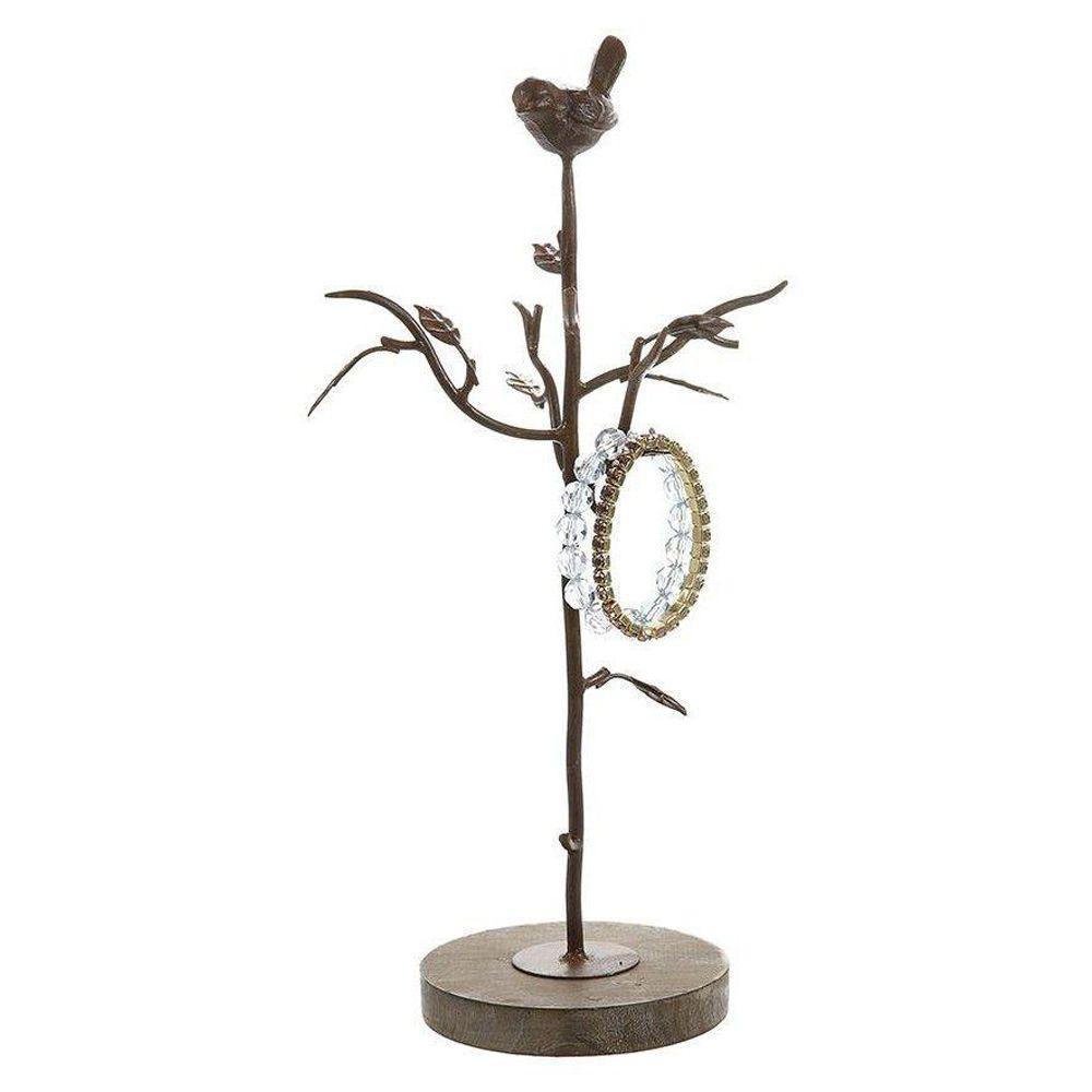 Home Decorators Collection Alouette Rust 15.5 in. H Jewelry Tree