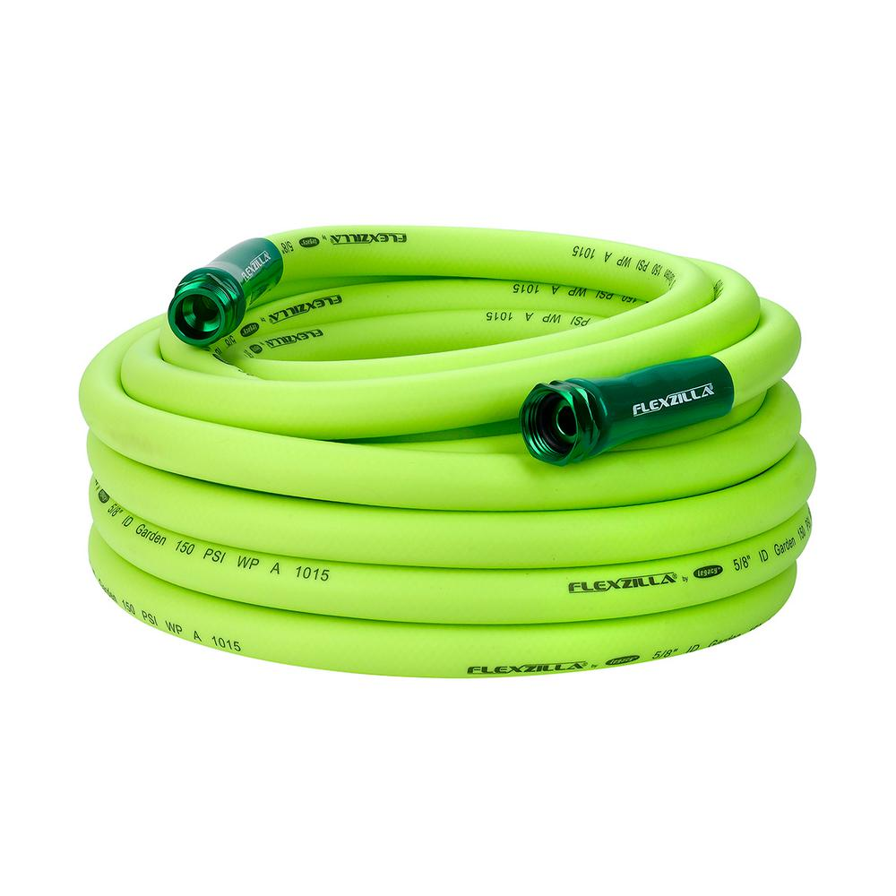 5/8 in. x 50 ft. ZillaGreen Garden Hose with 3/4 in.