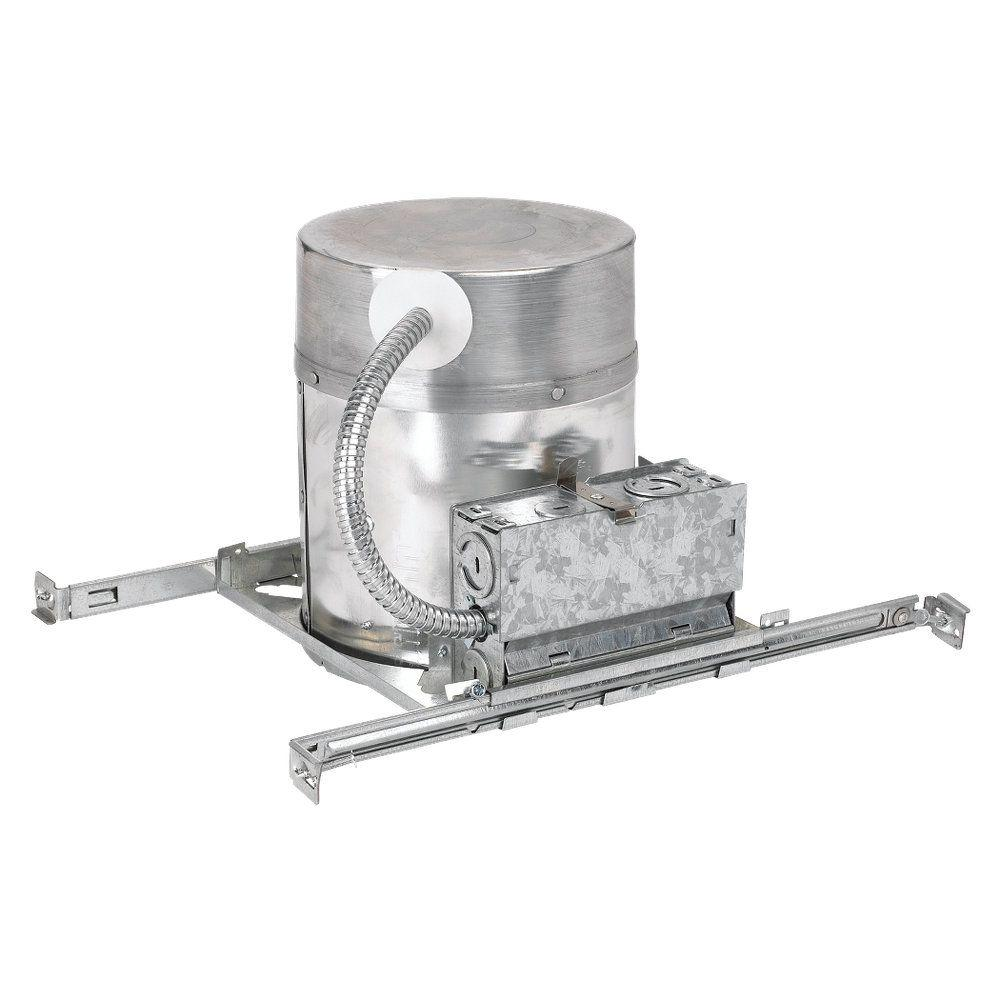 New Construction IC Airtight 6 in. Metallic Recessed Housing Kit