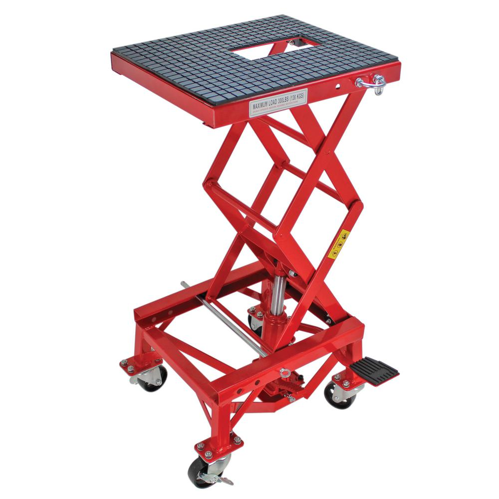 Extreme Max 300 lbs  Hydraulic Dirt Bike Lift Table
