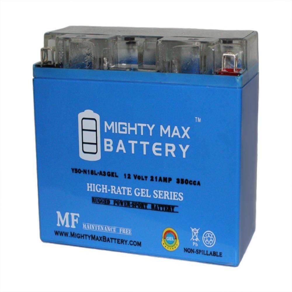 12-Volt 21 AH 350 CCA GEL Rechargeable Sealed Lead Acid (SLA) AGM Battery
