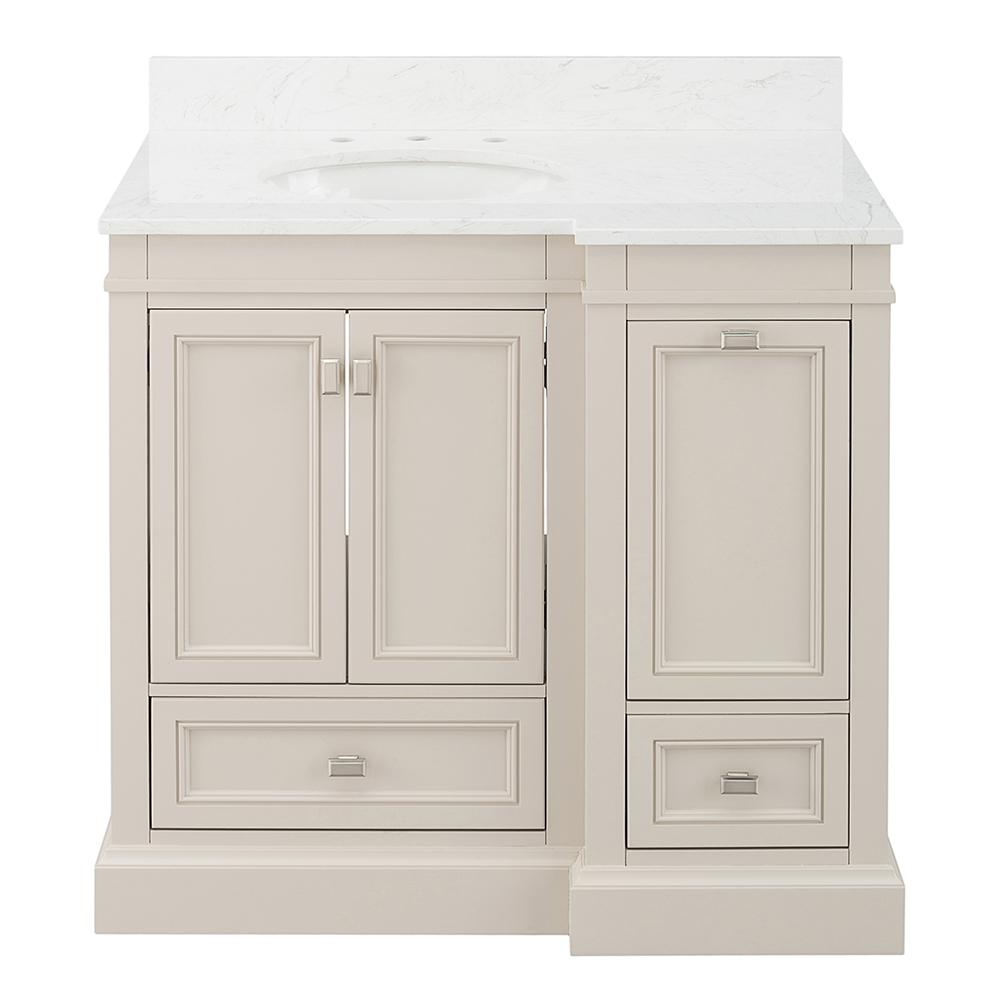 Home Decorators Collection Braylee 37 In W X 24 D Vanity Cabinet