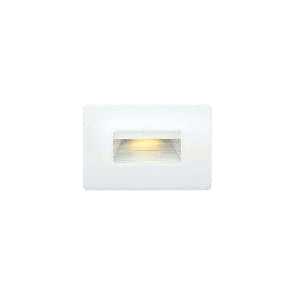 3.8-Watt Satin White Integrated LED 2700K Ultra Warm Luna Step Light