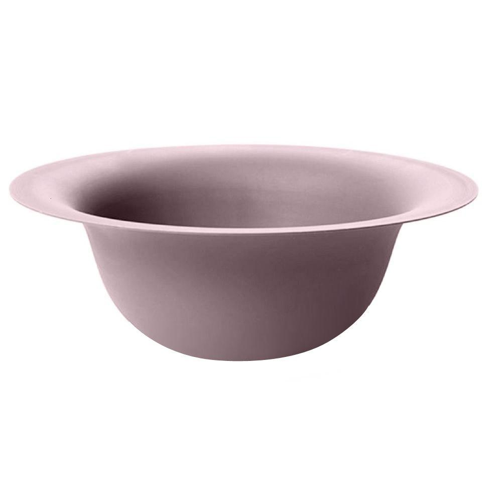 null Modica 12 in. Round Plummed Plastic Bowl Planter