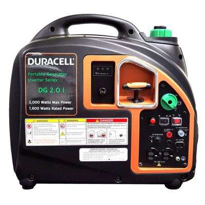 2,000-Watt Gas Powered Recoil Start Portable Digital Inverter Generator