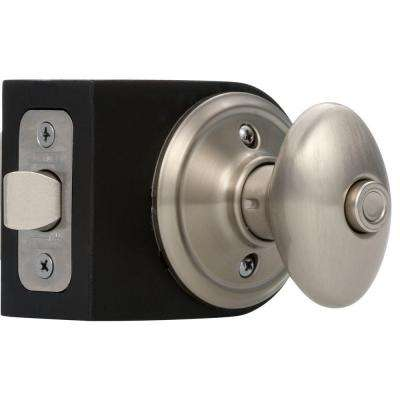 Siena Satin Nickel Privacy Door Knob