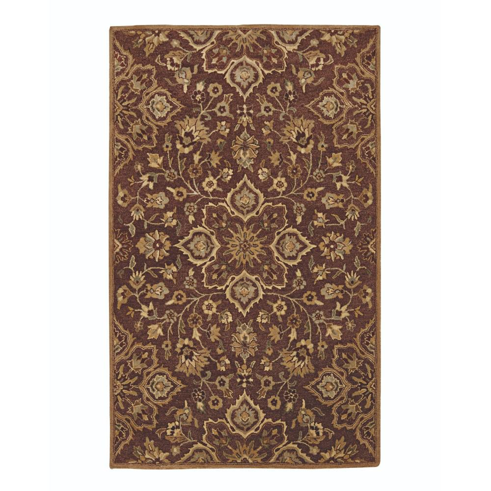 Home Decorators Collection Reine Brown 8 Ft. X 8 Ft. Round