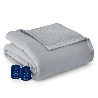 King/Cal King Greystone Electric Heated Comforter/Blanket