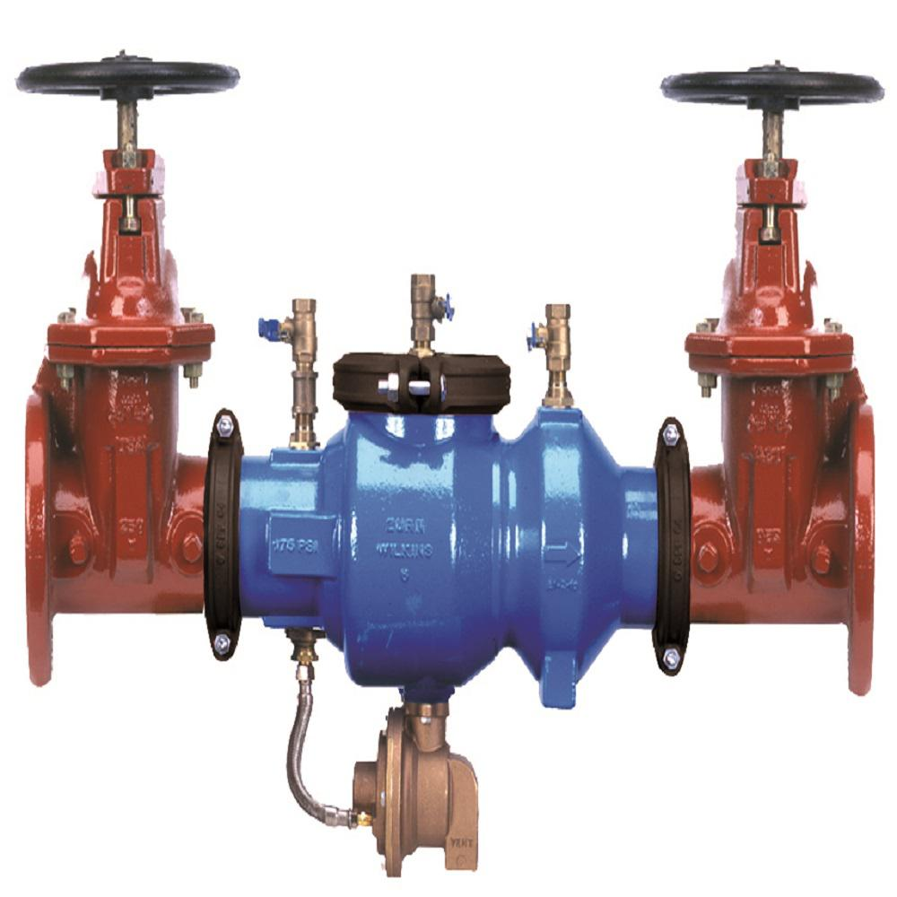 Zurn Wilkins 6 In Reduced Pressure Principle Backflow Preventer