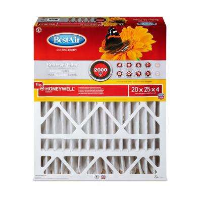 20 in. x 25 in. x 4 in. Honeywell FPR 7 Air Cleaner Filter