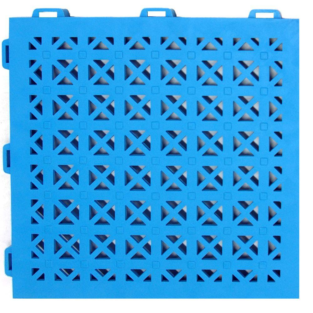 StayLock Perforated Blue 12 in. x 12 in. x 0.56 in.