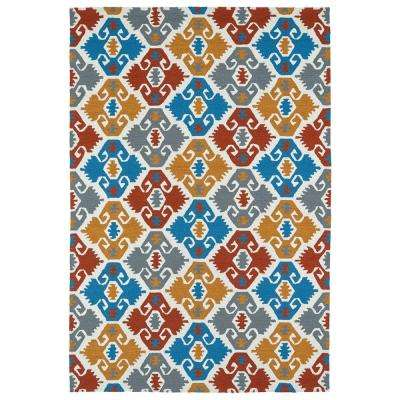Habitat Multi 8 ft. x 10 ft. Indoor/Outdoor Area Rug
