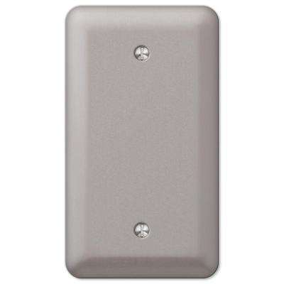 Devon 1 Blank Wall Plate - Brushed Nickel
