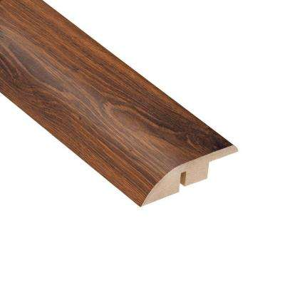 Santa Cruz Walnut 1/2 in. Thick x 1-3/4 in. Wide x 94 in. Length Laminate Hard Surface Reducer Molding