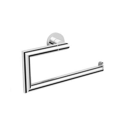 Grand Hotel Wall Mounted Towel Ring in Chrome