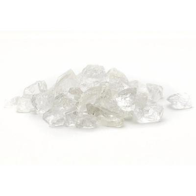 1/2 in. 10 lb. Medium Ice Clear Landscape Fire Glass