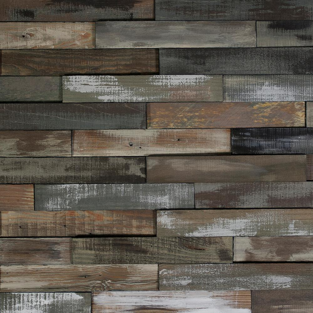 Nuvelle Take Home Sample Deco Planks Weathered Gray