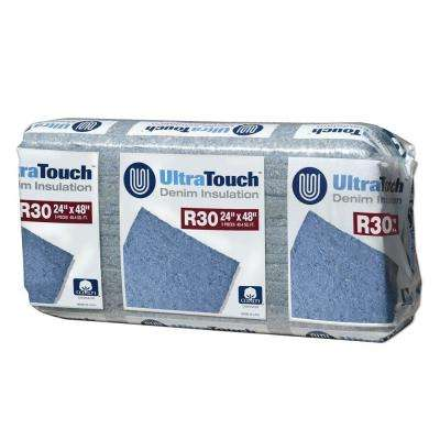 24.25 in. x 48 in. R30 Denim Insulation (8-Bags)