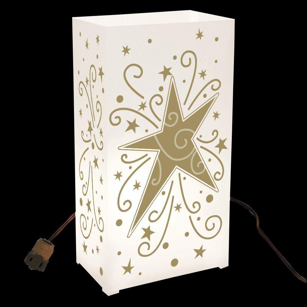 Star Electric Luminaria Kit (Set of 10)