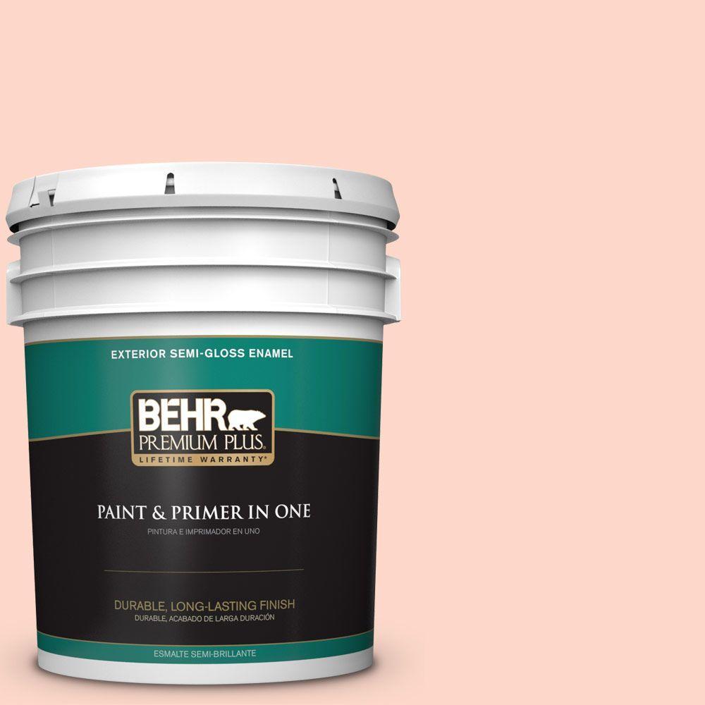 BEHR Premium Plus 5-gal. #240C-2 Heavenly Song Semi-Gloss Enamel Exterior Paint