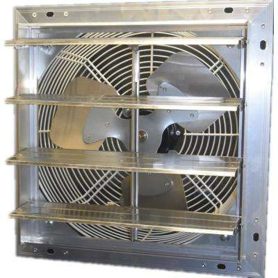 12 in. 900 CFM Power Shutter Mounted Variable Speed Exhaust Fan