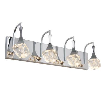 Spontaneous 24 in. Chrome LED Vanity Light Bar